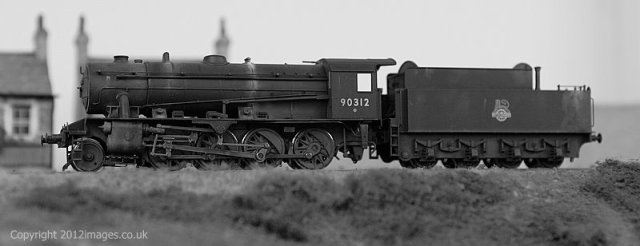 WD 2-8-0 Awaits it next turn of duty