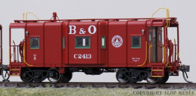 B&O I-12 Caboose