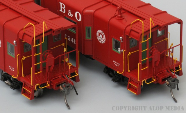 B&O I-12 'Wagontop' Caboose