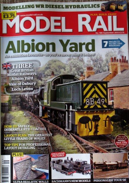 Model Rail 186 September 2013