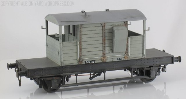 Parkside Dundas  7mm Scale Southern Brake Van