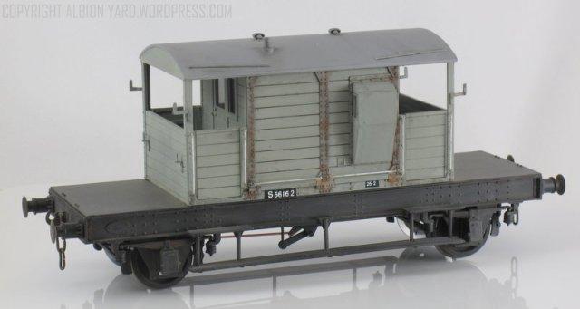 Parkside Dundas  7mm Scale Southern Brake Van