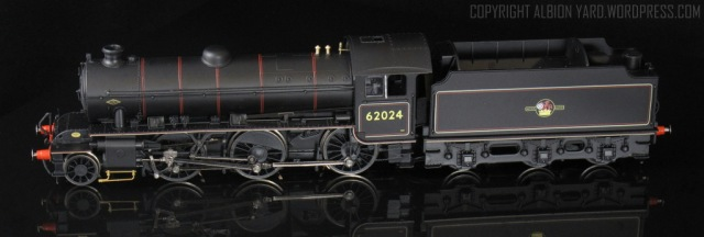 Hornby K1. Note corrected tender frames.