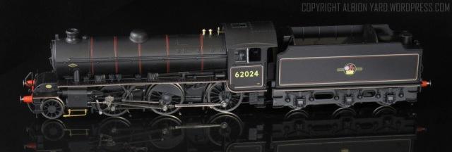 Hornby K1. Note corrected tender frames.