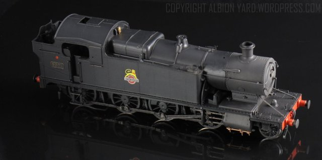 Hornby  R3124  42xx after modifications