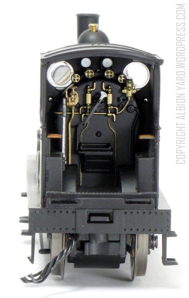 R3240 LSWR 700 Class Cab Details