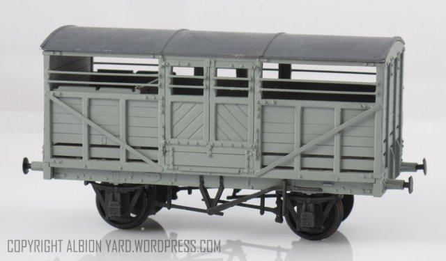PC87 Parkside LMS Cattle Wagon