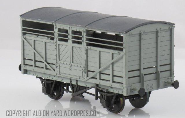 PC87 Parkside LMS Cattle wagon
