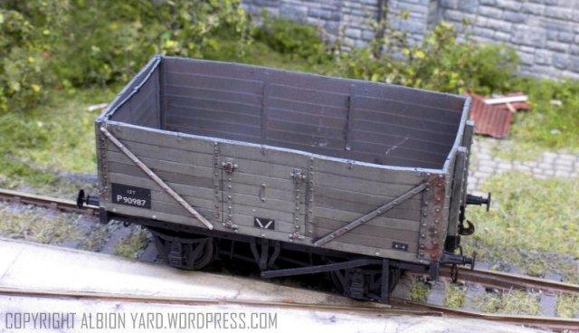 Oxford Rail PO wagon OR76MW7003