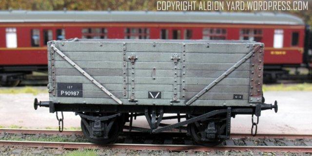 Oxford Rail PO Wagon OR76MW7001